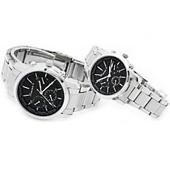 Watch Men's/Women's/Couples' Steel Quartz Couple's Watches