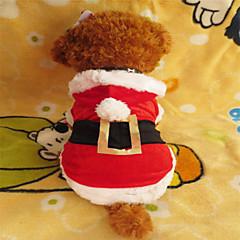 Hunde Kapuzenshirts Rot Winter Weihnachten Weihnachten