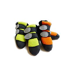 Gatos / Perros Zapatos y Botas Verde / Naranja Primavera/Otoño Lana PolarPerro Zapatos