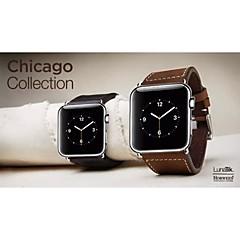 Ρολόι ρολογιών για ρολόι μήλων 38 χιλιοστά 42 χιλιοστά κλασικό λουρί ρολογιών πόρπης πόρπη με συνδετήρα