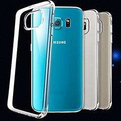 Special Design High-Grade TPU Ultra-Thin Transparent Back Shell for Samsung Galaxy S6