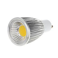 9W GU10 LEDスポットライト MR16 1 COB 750-800 lm 温白色 / クールホワイト AC 100-240 V 1個