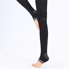 Női Ujjatlan Tömörítés Könnyű anyagok Zoknik Kompressziós zokni mert Jóga Fitnessz Szabadidős sport Futás Elasztán Chinlon Fekete Kék