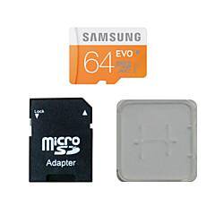 originale di Samsung 64gb class10 40m / s scheda di memoria tf e la scheda di memoria e la scatola di schede di memoria