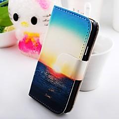 A Twilight szépség pénztárca állni pu bőrtok Samsung Galaxy S2 SII i9100
