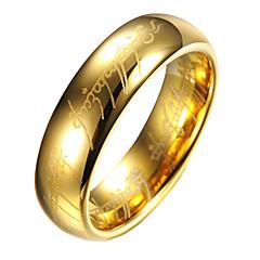 Мужчины Классические кольца,Бижутерия Золотой Свадьба / Для вечеринок / Повседневные Титановая сталь 1шт,11