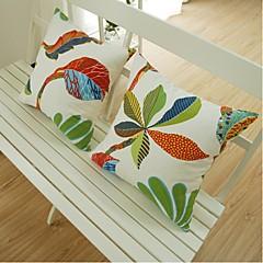 Bawełna Poszewka na poduszkę,Kwiatowy Modern / Contemporary