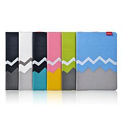 iPadのミニ/ミニ2/3用スタンド付きアソートカラーPUレザーフルボディケース