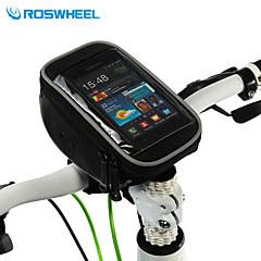 ROSWHEEL® Bisiklet Çantası 1.5LCep Telefonu Çanta / Bisiklet Gidon Çantaları Çok Fonksiyonlu / Dokunmatik Ekran Bisikletçi Çantası PVC