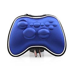 높은 품질의 주머니에 게임 파우치 / 마이크로 소프트 XBOX360 게임 컨트롤러를위한 가방 (파란색)