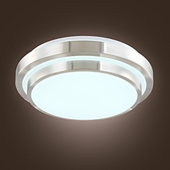 15w ; 90-240v Modern/Contemporary LED / Bulb Included Electroplated Acrylic Flush Mount Living Room / Bedroom / Dining Room