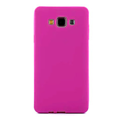Mert Samsung Galaxy tok Jeges Case Hátlap Case Egyszínű Szilikon Samsung A7