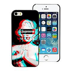 o caso duro de alumínio projeto Monroe para iPhone 5 / 5s