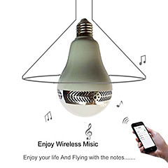 Old Shark LED Bluetooth Music Light Speaker Dimmable LED Lights for Smart Phones/Ipad with APP/Remote Control