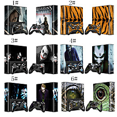 Custom Design Decals Skin Sticker for Xbox360 E and 2 Controllers