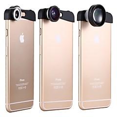 apexel 3-in-1 180 asteen kalansilmälinssistä + 10x makro-objektiivi ja 5x superteleobjektiivia kameran linssi kit iPhone 6 plus