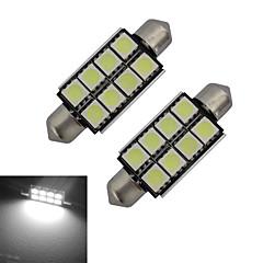 1.5W Feston Dekorationslampe 8 SMD 5050 150-170lm lm Kold hvid Jævnstrøm 12 V 2 stk.