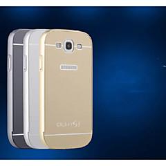 0,7 mm av hög kvalitet metallram och släpp plastskiva för Samsung s3 / i9300 (blandade färger)