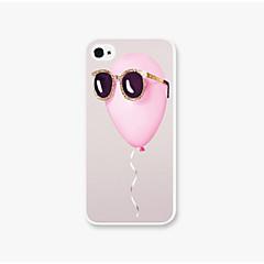 Mert iPhone 5 tok Ütésálló Case Hátlap Case Léggömb Kemény PC iPhone SE/5s/5
