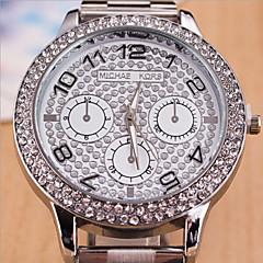 relógio do silicone caso mostrador redondo relógio marca de moda quartzo casal