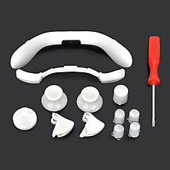 Replacement Button Caps Set w/ Screwdriver for XBOX 360 Wireless Controller