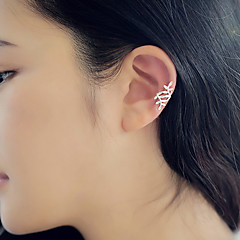 European Style Fashion Spread Leaves Temperament Earrings