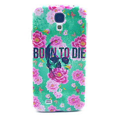 Skull Born To Die Pattern PC Hard Case for Samsung Galaxy S4 I9500 Back Cover