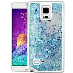 wysokiej jakości gwiazda Quicksand brokat pc twarde etui do Samsung Galaxy Note 4