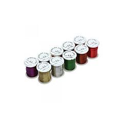 10 rollos de envoltura de alambre calibre 28 set joyería de cobre artesanía pasatiempo bricolaje