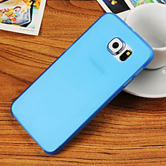Flexible Translucent Soft Back Case for Samsung Galaxy S6 Edge G9250 (Assorted  Color)