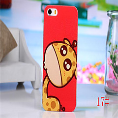 Fashion Lovly Animals Fresh Sweet Color Various Pattern PC Hard Back Skin Case Cover for Apple Cell Case for iphone 4 4s
