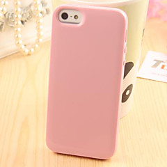 Mert iPhone 5 tok Other Case Hátlap Case Egyszínű Puha TPU iPhone SE/5s/5