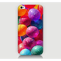 Multicolor Balloon Pattern Case Back Cover for Phone4/4S Case
