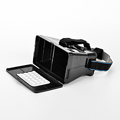 "Universal Virtual Reality 3D and Video Glasses for 3.5''-6""Smartphones-Black (Second Generation)"