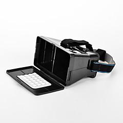"""3d de la réalité et des lunettes vidéo universelles virtuels pour 3,5 '' - 6 """"smartphones noir (deuxième génération)"""