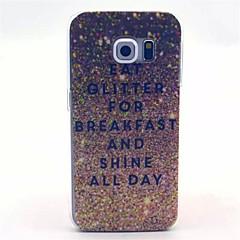 guld gnistre mønster pc hårdt tilfældet for Galaxy S3 / S4 / S5 / S6 / s6 kant / s4 mini / s5 mini