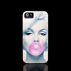 iphone 4 vaka için marilyn monroe desen kapağı / iphone 4 s dava