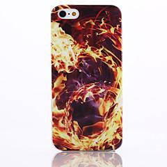 padrão de incêndio caso de telefone TPU para iphone 5 / 5s