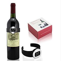 celsius digital elektrisk rødvin flaske ur termometer temperaturmåler