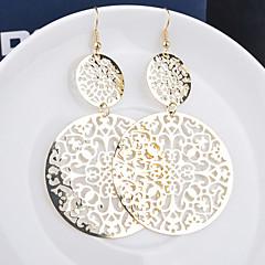 Γυναικεία Κρεμαστά Σκουλαρίκια Κοσμήματα με στυλ Εξατομικευόμενο Ευρωπαϊκό κοστούμι κοστουμιών Κράμα Leaf Shape Κοσμήματα Για Γάμου Πάρτι