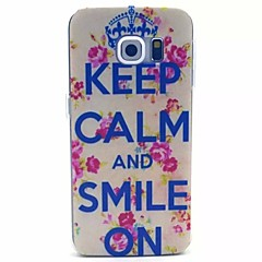Crown Letters Pattern PC Material Phone Case for Galaxy S6 / Galaxy S6 edge / Galaxy S3 / Galaxy S5Mini