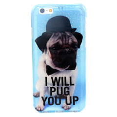For iPhone 6 Case / iPhone 6 Plus Case Pattern Case Full Body Case Dog Soft TPU iPhone 6s Plus/6 Plus / iPhone 6s/6