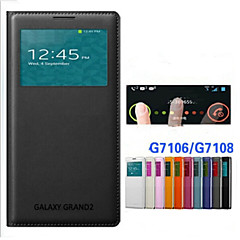 Original PU Leather Smart Auto-Sleep Full Body Case for Samsung Galaxy Grand 2 G7106/G7102/G7108 (Assorted Colors)