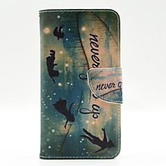 For Nokia etui Pung Kortholder Med stativ Etui Heldækkende Etui Ord / sætning Hårdt Kunstlæder for Nokia Nokia Lumia 640