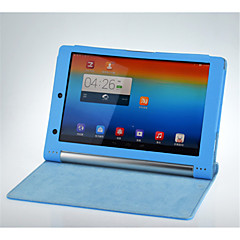 "Solid Colors High Quality PU Leather Cases With Stand Full Body Cases 10"" for Lenovo Yoga B8000 (Assorted Color)"