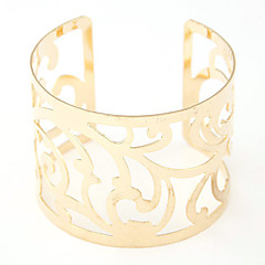 Bracelet/Cuff Bracelets Alloy Party / Daily / Casual Jewelry  Gold / Silver,1pc Christmas Gifts