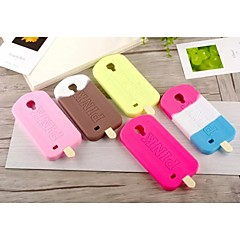 Ice Cream Design The Silicone Soft Back Case for Samsung Galaxy S4 I9500(Assorted Colors)