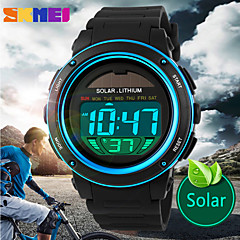 SKMEI® Men's Solar Sport Watch Digital LCD Display Calendar/Chronograph/Alarm/Water Resistant