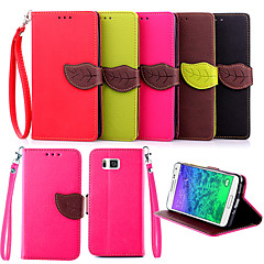 Wallet Card Holder PU Leather Flip Case Cover for Samsung Galaxy Trend Duos/Galaxy Alpha/ Grand Prime(Assorted Colors)