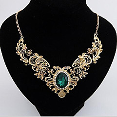 May Polly  European and American folk style Jeweled necklace at